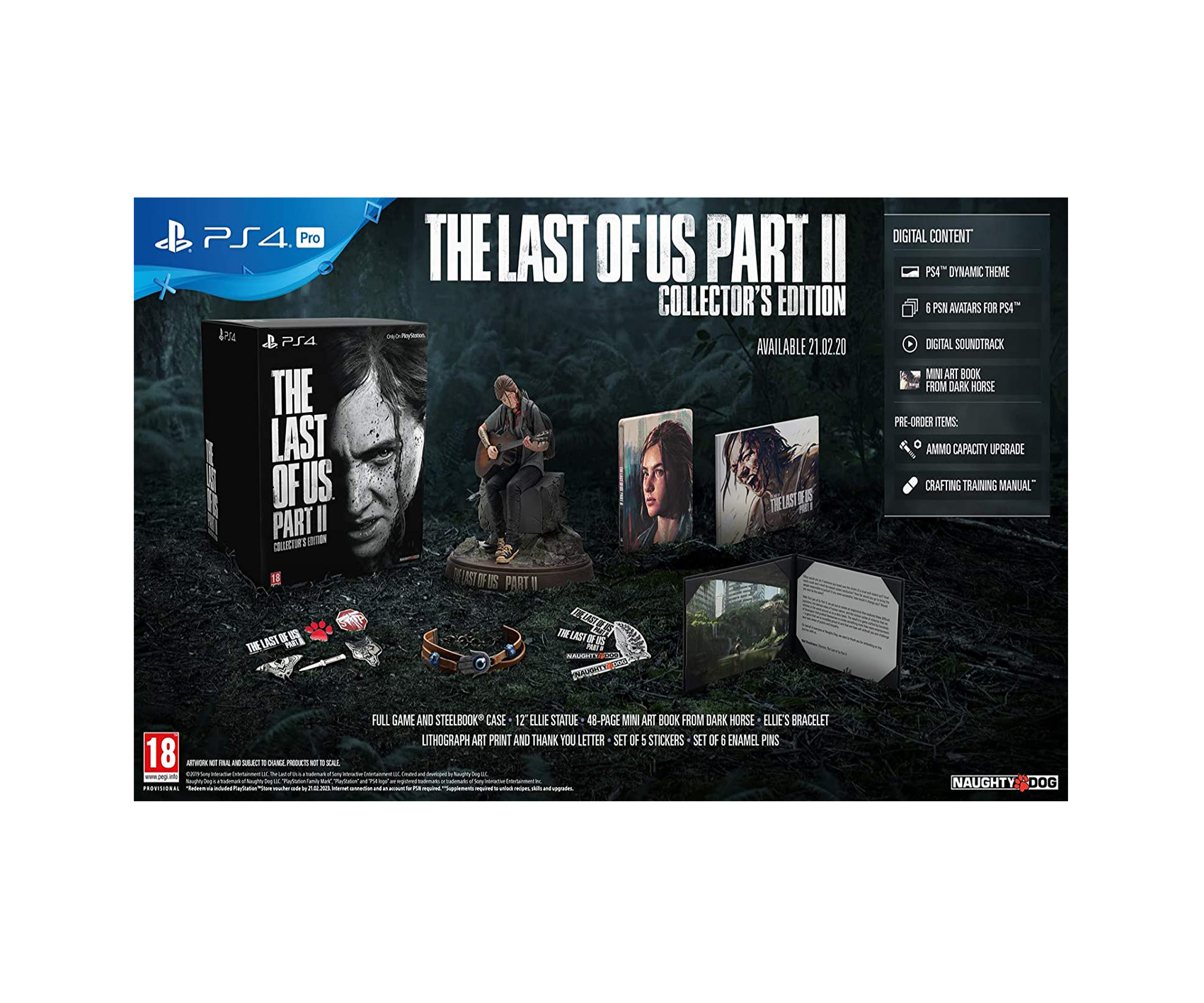 The Last of US II Collector Edition
