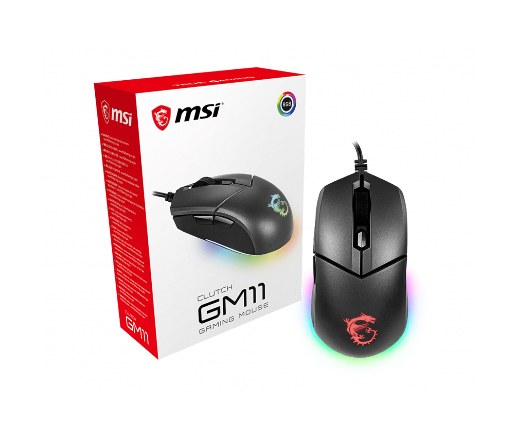 MSI Clutch GM11 Gaming Mouse