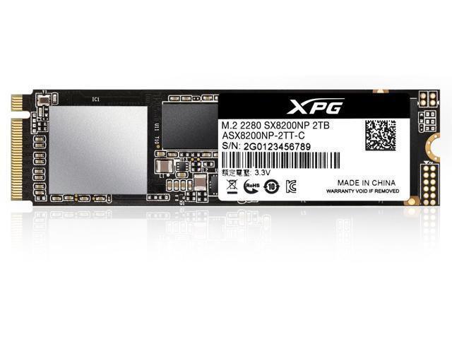 XPG SX8200 Pro PCIe Gen3x4 M.2 2280 Solid State Drive