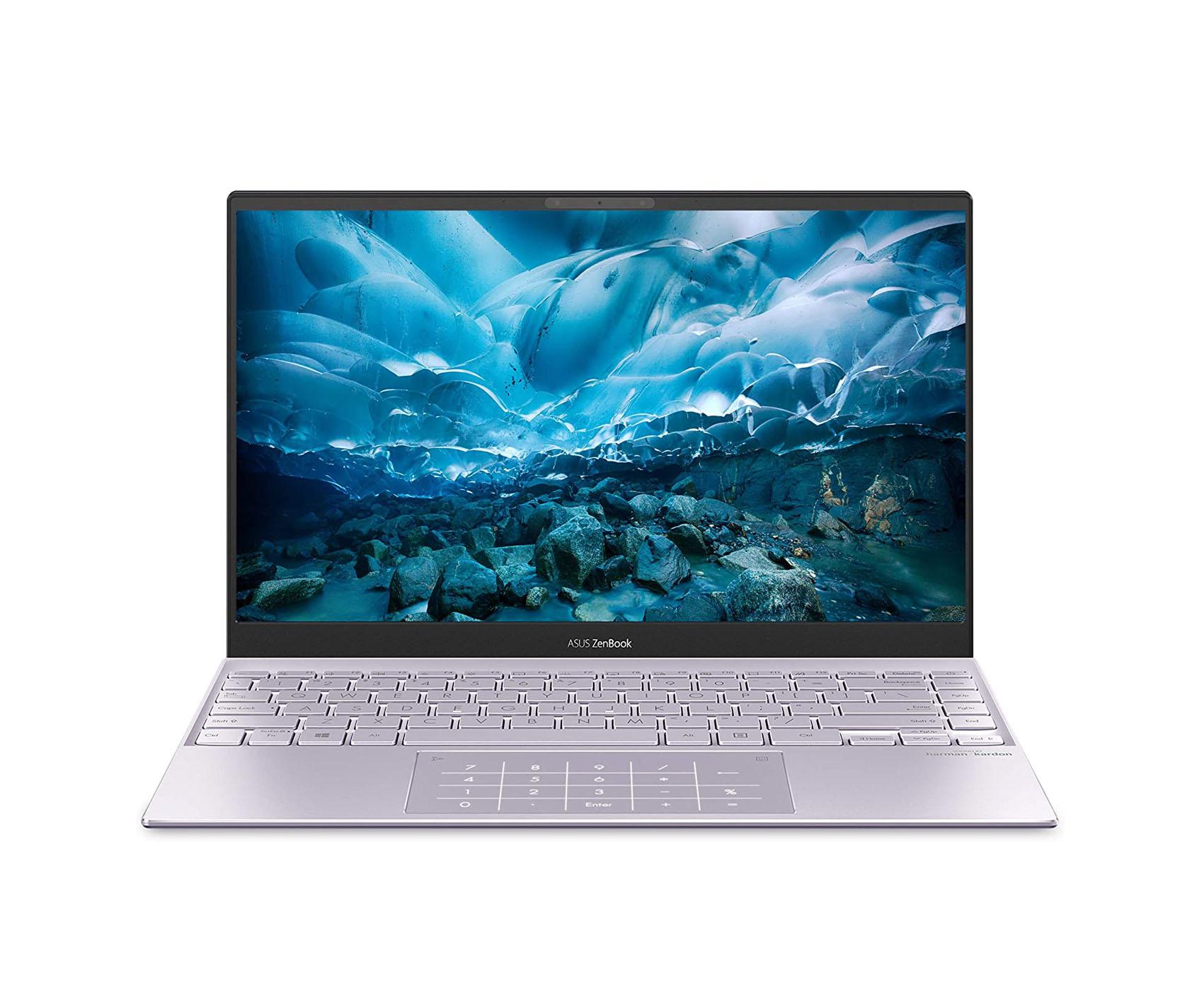 """ASUS ZenBook 13 Ultra-Slim Laptop 13.3""""  Intel  i5-1035G1 8GB RAM 256GB SSD Lilac Mist"""