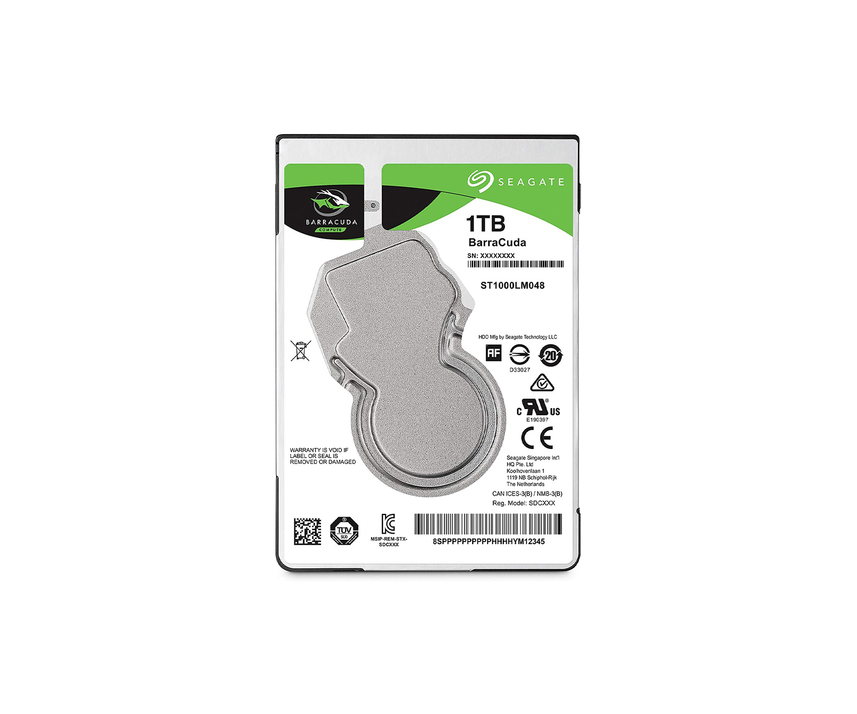 Seagate Barracuda 1 T.B 2.5 inch HDD
