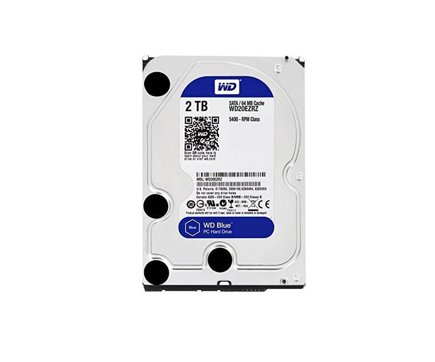 WD Blue 3.5 inch 2tb HDD