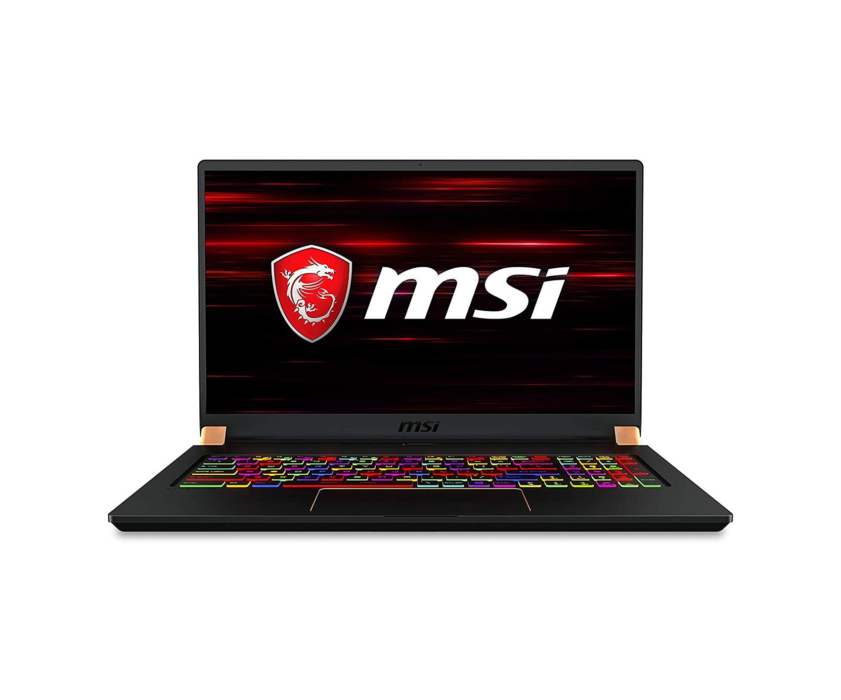 "MSI GS75 Stealth Gaming Laptop: 17.3"" 240Hz , i7-10875H, RTX 2060, 16GB RAM, 512GB SSD, Win 10 Pro, Black (10SE-620)"