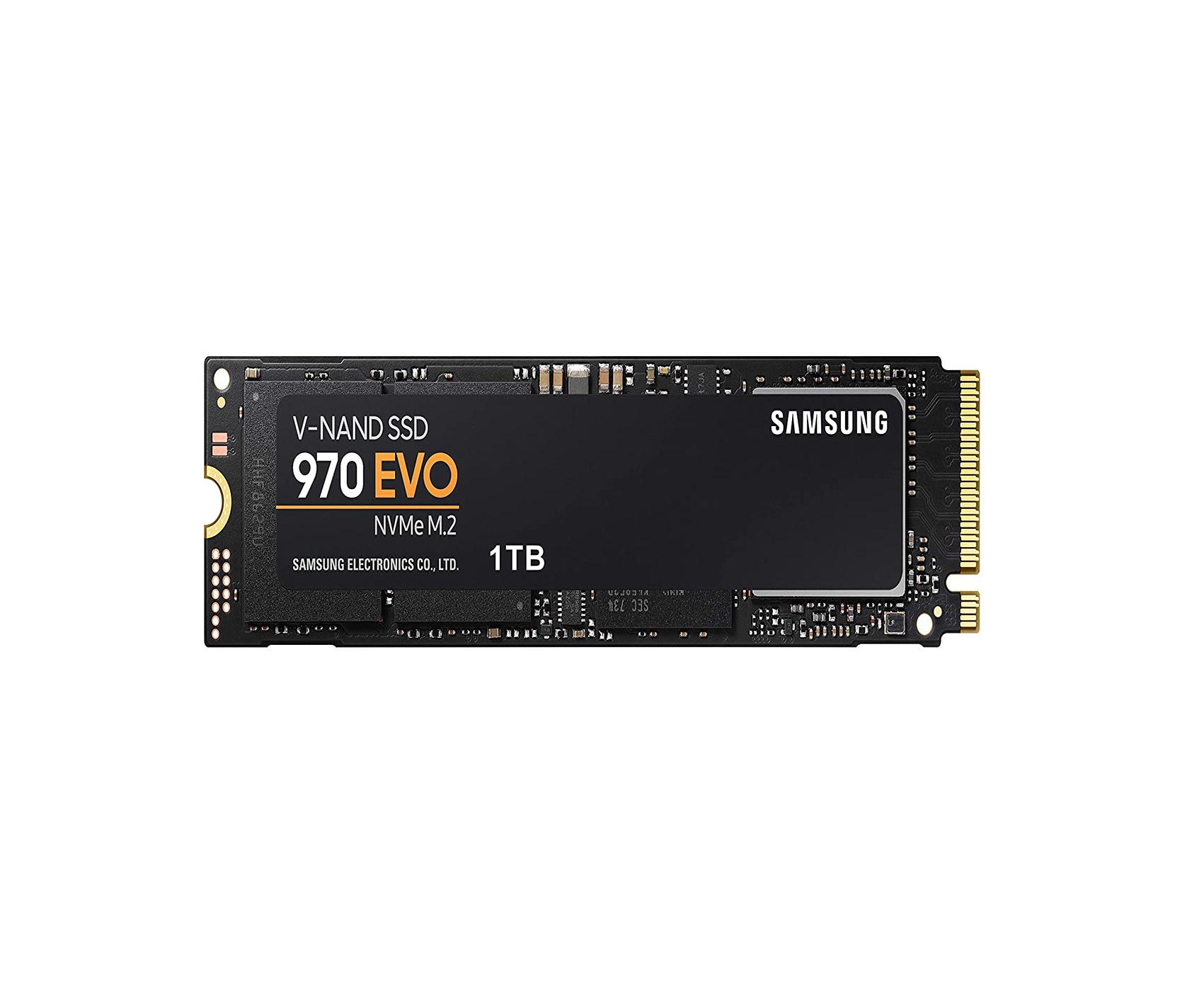 Samsung 970 EVO SSD 1TB - M.2 NVMe