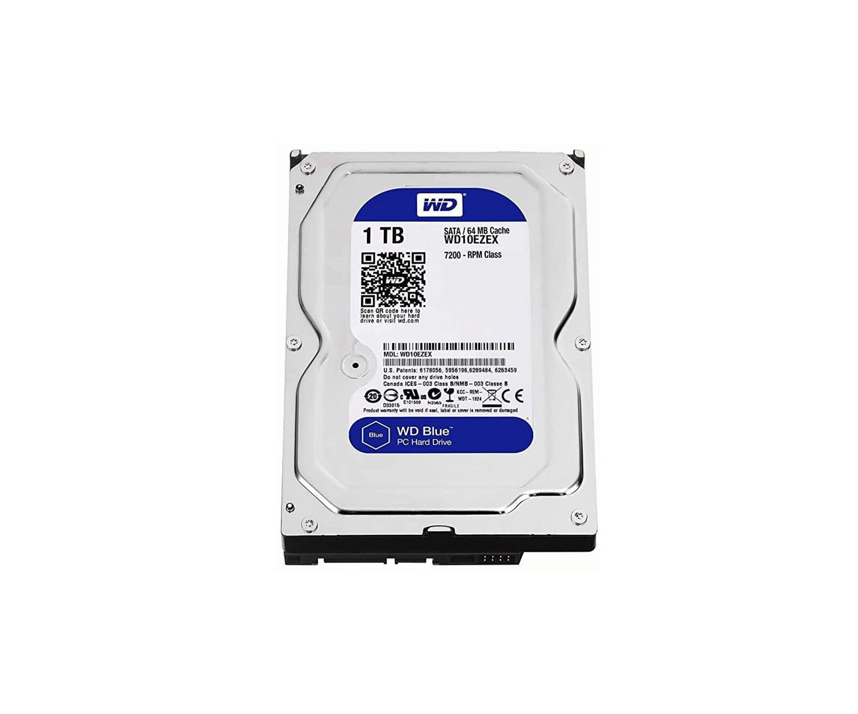WD Blue 3.5 inch 1tb HDD