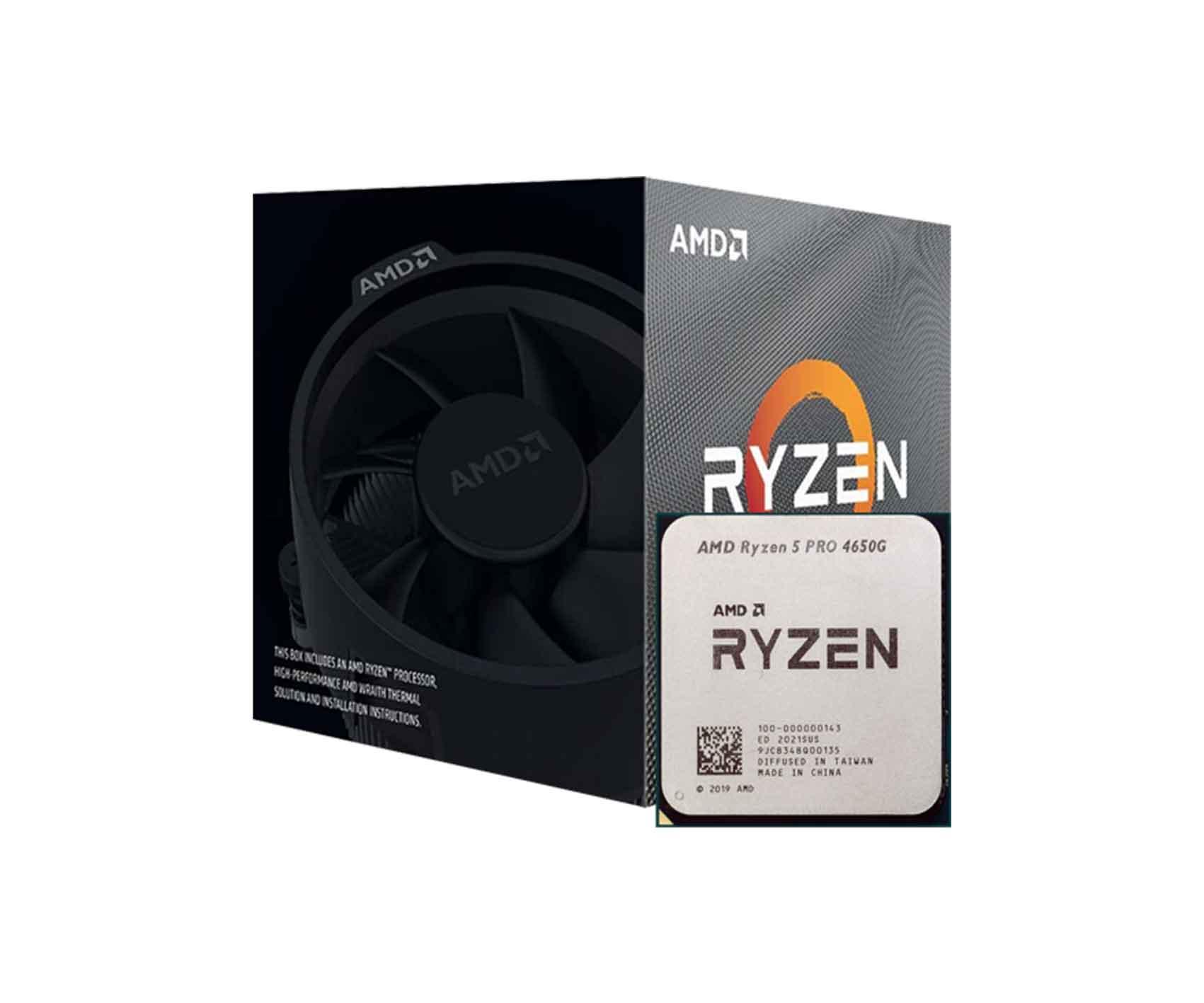 Amd Ryzen 5 pro 4650G Processor