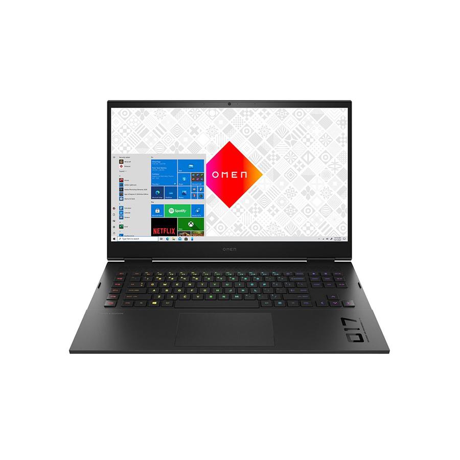 "HP OMEN 17-ck0371nr 17.3"" Gaming Laptop Computer Platinum Collection - Shadow Black"