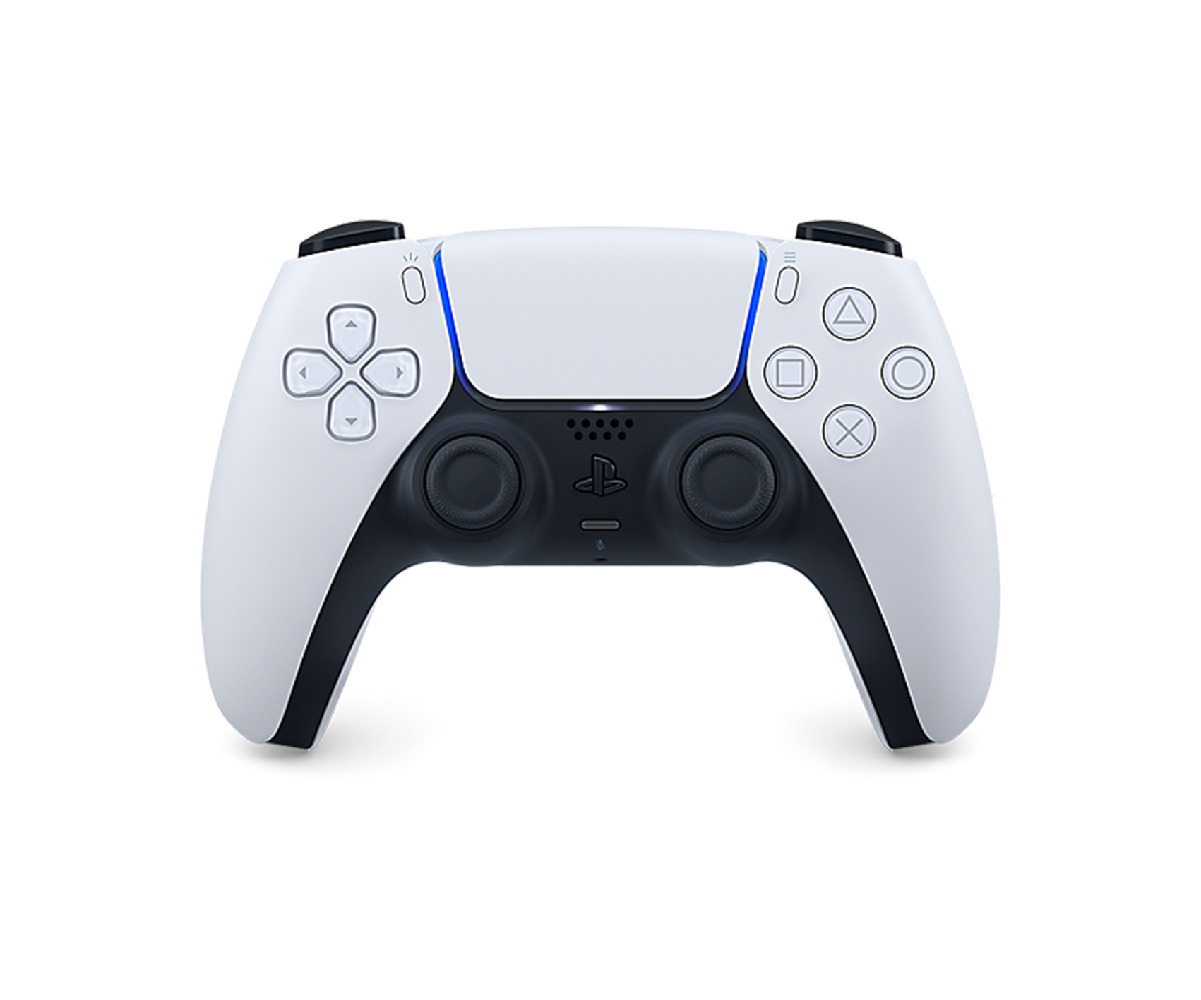 Sony DualSense Wireless Controller for PlayStation 5 Black and White
